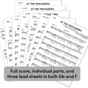 At the Trocadero PDF Pack