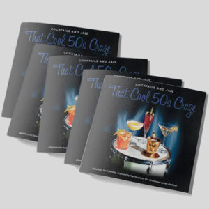 Cocktails and Jazz 5 booklets