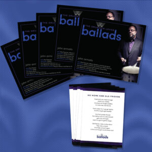 The Drummer Loves Ballads Five CDs with enclosure cards