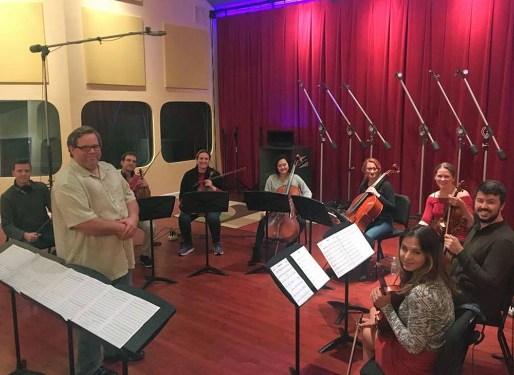 Some of the top string players in Kansas City made the session
