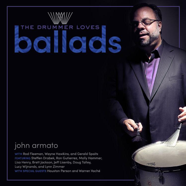 The Drummer Loves Ballads Cover Art